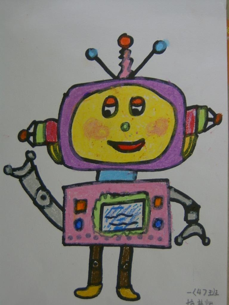 来看看我们的科幻画吧